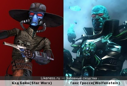 Гангстер из Звёздных войн обзавёлся приличной бронёй и стал Гансом Гроссе из Wolfenstein
