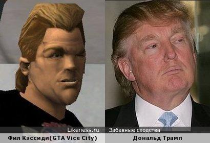 В Филе Кэссиди из GTA Vice City есть что-то от Дональда Трампа