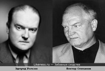 Актёр Виктор Степанов похож на писателя Эдмунда Уилсона