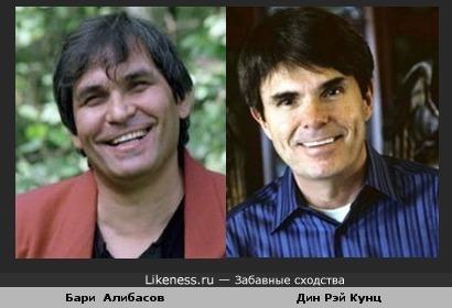 Бари Алибасов и Дин Рэй Кунц