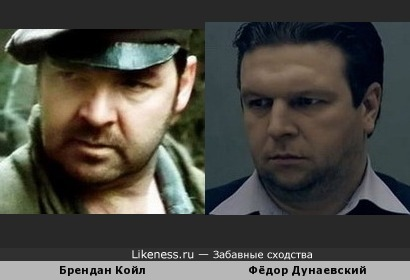 Два актёра. Фёдор Дунаевский и Брендан Койл
