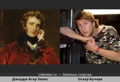 Оскар Кучера и Джордж Джеймс Агар-Эллис