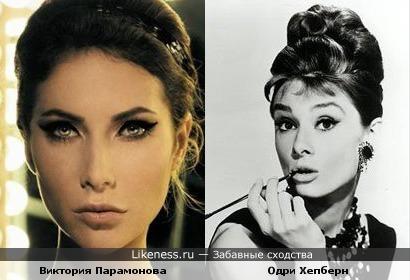 Виктория Парамонова (Victoria Paramonova) статья о сходстве Виктории и Одри Хепберн