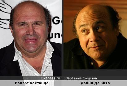 Роберт Костанцо похож на Дэнни Де Вито