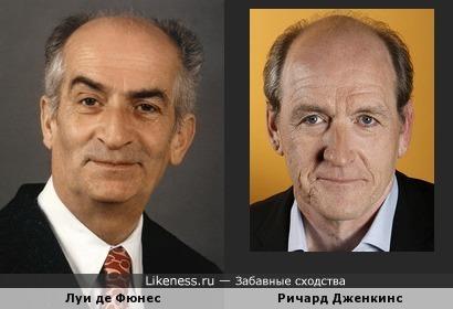 Луи де Фюнес и Ричард Дженкинс