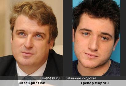 Олег Кристюк (Директор по маркетингу ColorWay) и Тревор Морган