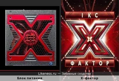 Блок питания Aerocool Strike-X как логотип Икс-фактора