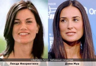 Линда Фиорентино и Деми Мур