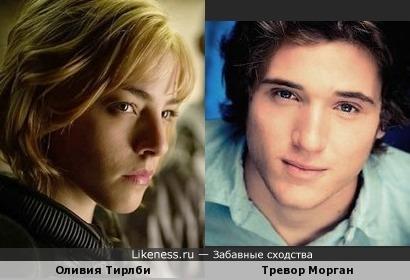 Оливия Тирлби (Судья Дредд 3D) и Тревор Морган
