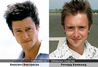 Винсент Вентреска и Ричард Хаммонд