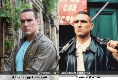 Александр Невский и Винни Джонс (Карты, деньги, два ствола)