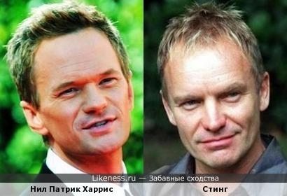 Нил Патрик Харрис и Стинг (музыкант)