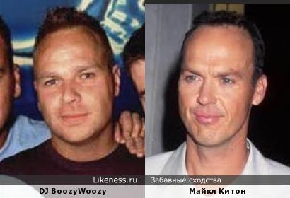 DJ BoozyWoozy (Klubbheads) и Майкл Китон