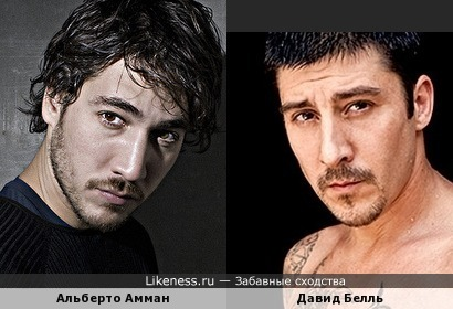Альберто Амман и Давид Белль