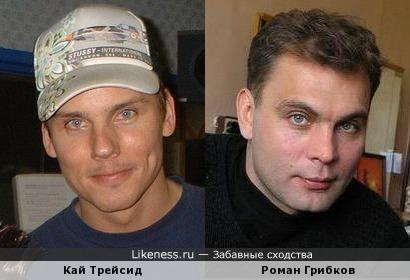 DJ Кай Трейсид и Роман Грибков