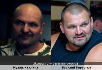 Мужик из клипа LORDI - The Riff и Василий Вирастюк