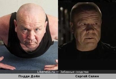 Пэдди Дойл (рекордсмен по отжиманиям) и Сергей Селин (Дукалис)
