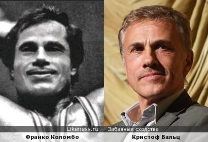 Франко Коломбо здесь показался схожим на Кристофа Вальца