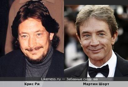 Крис Ри и Мартин Шорт