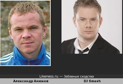 Анюков похож на DJ Smash
