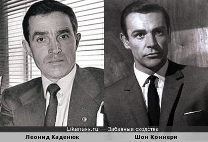 Леонид Каденюк похож на Шона Коннери