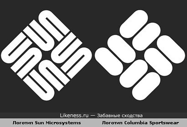 Логотип Sun похож на логотип Columbia