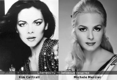 Ким Кэтролл в молодости, похожа на Мишель Мерсье