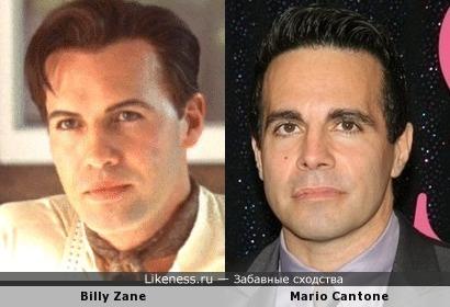 Билли Зейн похож на Марио Кантоне