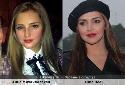 Красивые похожие актрисы