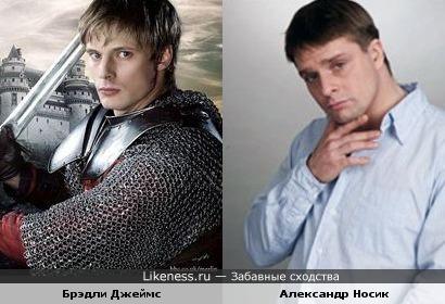 """Артур из """"Мерлина"""" и Артём из """"Мухтара"""""""