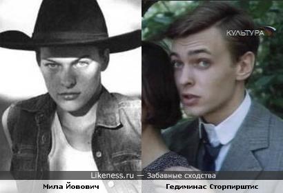 """Мила Йовович похожа на Клайда Гриффитса из """"Американской трагедии"""""""