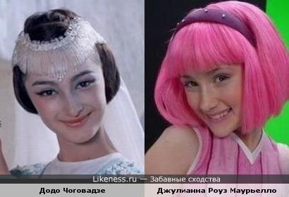 Царевна Будур и Стефани из Лентяево