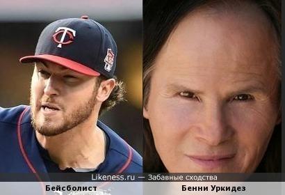 Глаза Бейсболиста похожи на глаза Бенни
