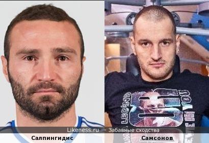Футболист похож на боксера
