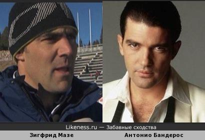 тренер сборной Франции по биатлону похож на извсетного актера