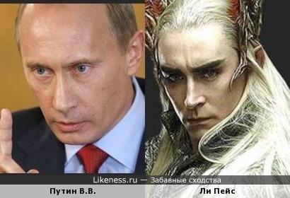 Владимир Владимрович снялся в Хоббите??