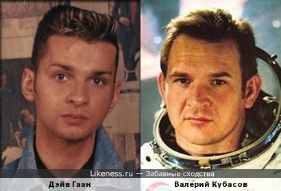 """Дэйв Гаан и Валерий Кубасов (для конкурса """"Покорители космоса"""")"""