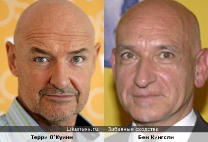 Терри О'Куинн похож на Бена Кингсли
