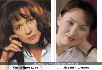 Ольга Дроздова и Наталья Щукина (дубль-2)
