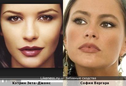 Кэтрин Зета-Джонс и София Вергара
