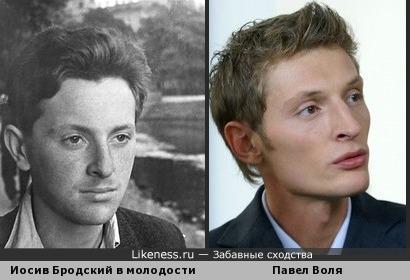 Павел Воля похож на Бродского в молодости