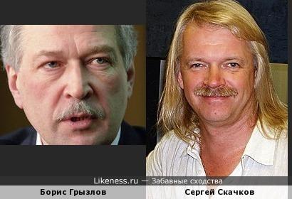Борис Грызлов и Сергей Скачков