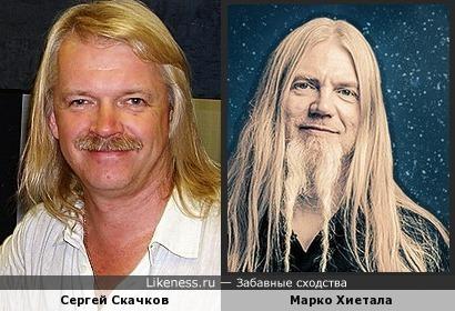 Сергей Скачков и Марко Хиетала