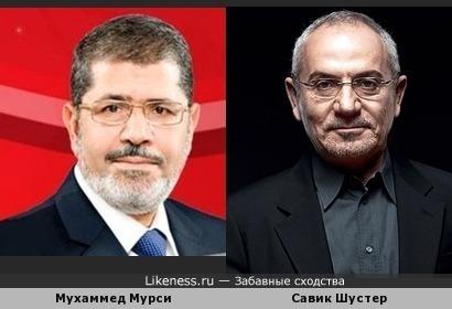 Мухаммед Мурси напоминает Савика Шустера