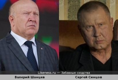 Валерий Шанцев и Сергей Синцов