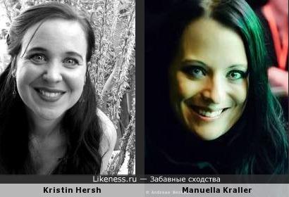Kristin Hersh и Manuela Kraller