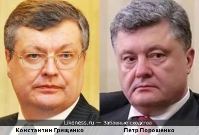 Константин Грищенко напоминает Петра Порошенко