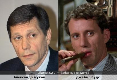 Александр Жуков похож на Джеймса Вудса