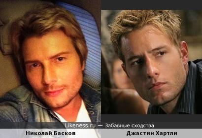 Николай Басков и Джастин Хартли