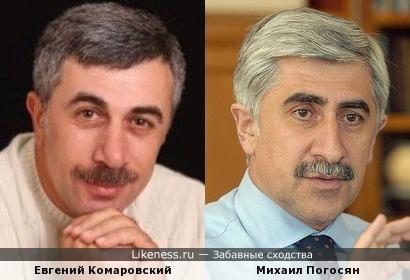Доктор Комаровский и Авиаконструктор Погосян